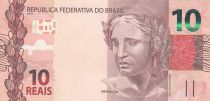 Brazil 10 Reais Liberty - Ara 2010 (2019) - Prefix HI - UNC - P.254
