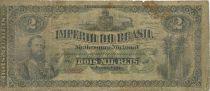 Brazil 2 Mil Reis Reis, Dom Pedro II - 1870