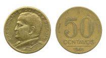 Brazil 50 Centavos General Eurico Gaspar Dutra