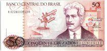 Brazil 50 Cruzados, Oswaldo Cruz - Cruz Institute  - 1986