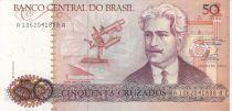 Brazil 50 Cruzados Oswaldo Cruz - Institute Cruz (1986) - Serial 1062