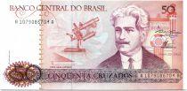 Brazil 50 Cruzados Oswaldo Cruz - Institute Cruz (1986) - Serial 1079