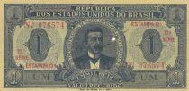 Brésil 1 Mil Reis 1921 - Estampa 12 A - D. Campista