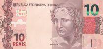 Brésil 10 Reais Liberté - Ara 2010 (2019) - Préfixe HI - Neuf - P.254