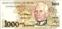 Brésil 1000 Cruzeiros Candido Rondon - Enfants - 1991