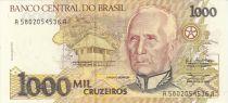 Brésil 1000 Cruzeiros Candido Rondon - Indiens - 1990 Série A.5802