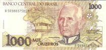 Brésil 1000 Cruzeiros Candido Rondon - Indiens