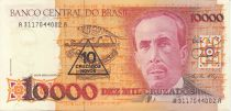 Brésil 10000 Cruzados Carlos Chagas - Laboratoire - 1989 Série A.3117