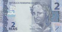 Brésil 2 Reais Liberté - Tortues 2010 (2018)