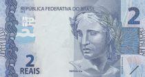 Brésil 2 Reais Liberté - Tortues 2010 (2019) - Préfixe GB - Neuf