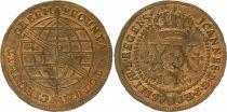 Brésil 20 Reis Maria I - Armoiries - 1816 B