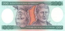 Brésil 200 Cruzeiros Princesse Isabel - Femmes