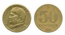Brésil 50 Centavos Général Eurico Gaspar Dutra