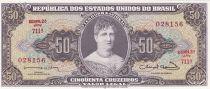 Brésil 50 Cruzeiros,  Princesse Isabelle - 1963