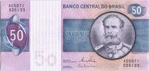 Brésil 50 Cruzeiros Deodoro Da Fonseca - Serie A05071 - 1980