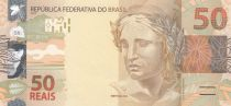 Brésil 50 Reais Liberté - Jaguar 2010 (2017)