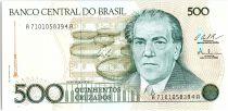 Brésil 500 Cruzados Villa Lobos - 1988