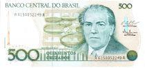 Brésil 500 Cruzados Villa Lobos - ND (1987) Séries variées