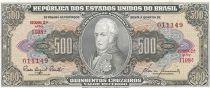 Brésil 500 Cruzeiros, Joao VI - 19(55-60)