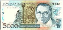 Brésil 5000 Cruzados  -  Candido Portinari - 1988