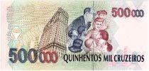 Brésil 500000 Cruzeiros, Mario de Andrade - 1993