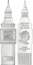British Virgin Islands 1 Dollar Big Ben - Elisabeth II - 2016