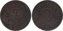 Brunéi 1 Cent Hashim Jalal 1886 ( 1304 )