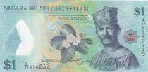 Brunei 1 Ringgit Sultan J.A.H. Bolkiah - Polymer - 2013 - UNC - P.35b