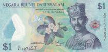 Brunéi Darussalam 1 Ringgit 2015 - Sultan J.A.H. Bolkiah - Polymer