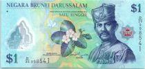 Brunei Darussalam 1 Ringgit Sultan J.A.H. Bolkiah - Polímero - 2011