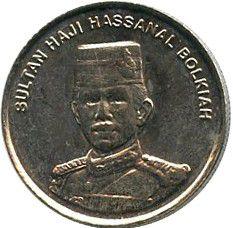Brunei Darussalam 10 Sen Sultan H. Bolkiahi - 2002