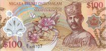 Brunéi Darussalam 100 Ringgit Sultan J.A.H. Bolkiah - Polymer - 2004