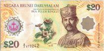 Brunei Darussalam 20 Ringgit J.A.H. Bolkiah - 40 años de CIA - 2007