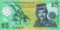 Brunéi Darussalam 5 Ringgit Sultan J.A.H. Bolkiah - Polymer - 1996