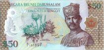 Brunei Darussalam 50 Ringgit Sultan J.A.H. Bolkiah - Polymer - 2004