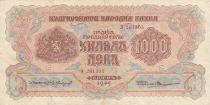 Bulgaria 1000 Leva - 1945 - P.72a - VF
