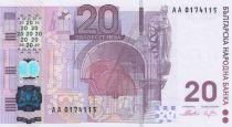 Bulgarie 20 Leva 2005 - 120 ans du Premier billet Bulgare - Neuf - Hybride - P.121a