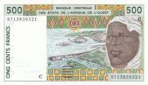 Burkina Faso 500 Francs homme 1997 - Burkina Faso