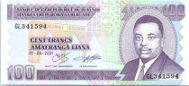 Burundi 100 Francs Prince Rwagasore - Construction de maison - 2001