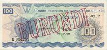 Burundi 100 Francs Vache - 1960