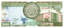 Burundi 5000 Francs Dock et navires - 2003
