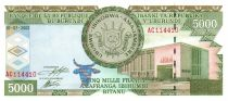 Burundi 5000 Francs Ship dockside - 2003