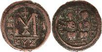 Byzance Follis, Justin II et Sophie (565-578) - Cysique An V
