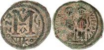 Byzance Follis, Justin II et Sophie (565-578) - Nicomédie An 5