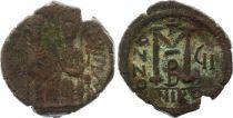 Byzance Follis, Justin II et Sophie (565-578) - Nicomédie An GI