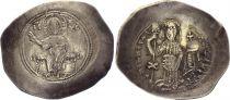 Byzance Histamenon Nomisma, Christ Pantocrator - Nicéphore III (1078-1081) Electrum