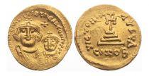 Byzance Solidus, Heraclius and Heraclius Constantin (610-641)