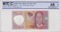 Cabo Verde 200 Escudos Henrique Teixera de Sousa - Polymer 2014 - PCGS 68 OPQ