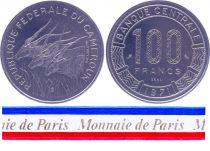Cameroon 100 Francs - 1971 - Test strike