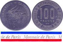 Cameroon 100 Francs - 1975 - Test strike